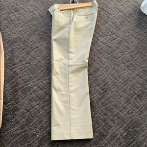 Theory Tan Ankle Pants